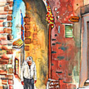 Old And Lonely In Italy 04 Art Print