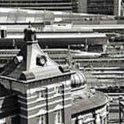 Old And New Tokyo Station Art Print