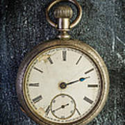Old Antique Pocket Watch Art Print