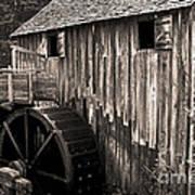 Old Appalachian Mill Art Print