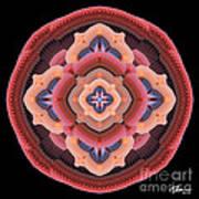 Old Apple Mandala Art Print