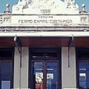 Old Atlantic Railway Station San Jose Costa Rica Art Print