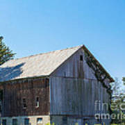 Old Barn 1  Art Print