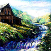 Old Barn 2 Art Print