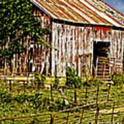Old Barn #3 Art Print