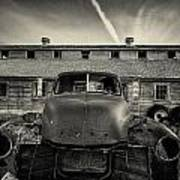 Old Barn And Truck Art Print