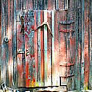 Old Barn Door 2 Art Print