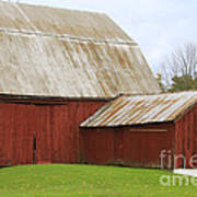 Old Barn Art Print by Kathy DesJardins