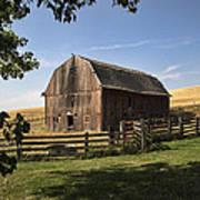 Old Barn On The Palouse Art Print