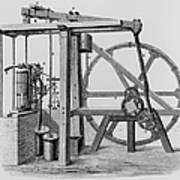 Old Bess Steam Engine Print by SPL and Science Source