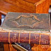 Old Bible Art Print