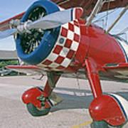 Old Biplane V Art Print