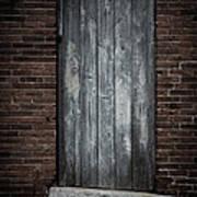 Old Blacksmith Shop Door Art Print