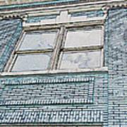 Old Blue Building I Art Print