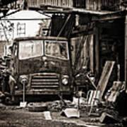 old BMC diesel Art Print