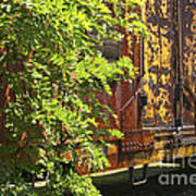Old Boxcar Dying Slowly Art Print