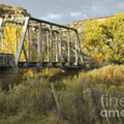Old Bridge At La Boca Art Print