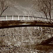 Old Bridge In Autumn Art Print