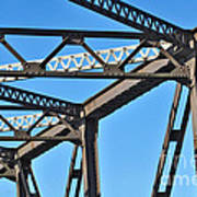 Old Bridge Structure Art Print