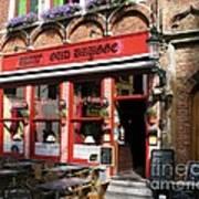 Old Brugge Tavern Art Print