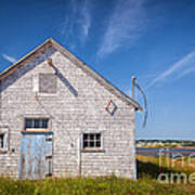 Old Building In North Rustico Art Print