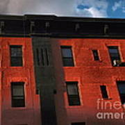 Brownstone 1 - Old Buildings And Architecture Of New York City Art Print