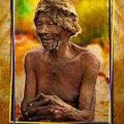Old Bushman Art Print