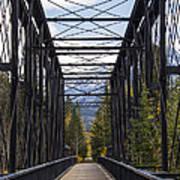 Old Canmore Railroad Bridge Art Print