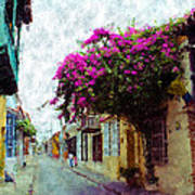 Old Cartagena 2 Art Print
