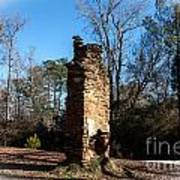 Old Chimney Still Standing Art Print