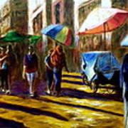 Old City Ahmedabad  Series 2 Art Print