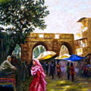 Old City Ahmedabad Series 6 Art Print
