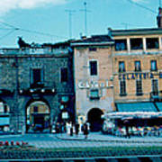 Old City Gate Vicenza 2 1962 Art Print