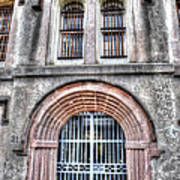 Old City Jail Entrance Art Print
