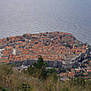 Old City Of Dubrovnik  Art Print