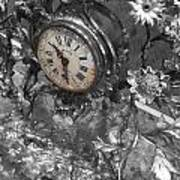 Old Clock Art Print