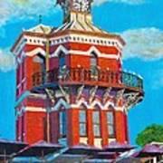 Old Clock Tower Art Print