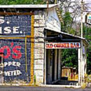 Old Corner Bar - Dayton - Nevada Art Print