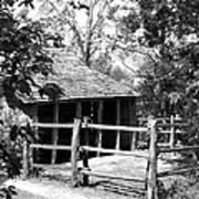 Old Corral And Barn Art Print