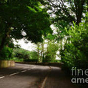 Old Country Road - Peak District - England Art Print