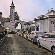 Old Damascus . Bab Sharqi Art Print