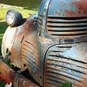 Old Dodge Truck Art Print