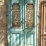 Old Door In Jersusalem Israel Art Print