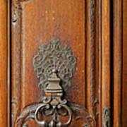 Old Door Knocker Art Print