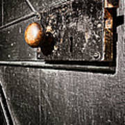 Old Door Lock Print by Olivier Le Queinec