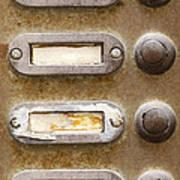 Old Doorbells Art Print