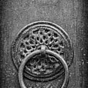 Old Doorknocker Art Print