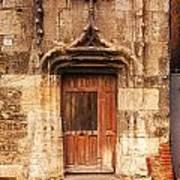 Old Doorway Cahors France Print by Colin and Linda McKie