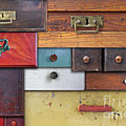 Old Drawers - In Utter Secrecy Art Print
