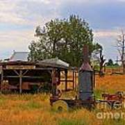 Old Farm Equipment Art Print